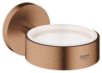 Grohe Essentials glas-/zeephouder zonder glasdeel brushed warm sunset - 40369DL1