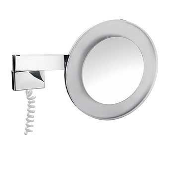 Emco scheerspiegel m. LED-verlichting m. snoer - 109600109