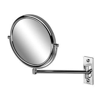Geesa Mirror Collection scheerspiegel 1-armig normaal en 3x vergrotend - 1085