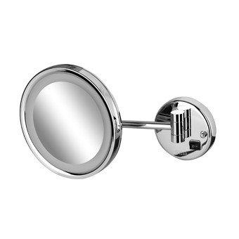 Geesa Mirror Collection scheerspiegel m. LED verlichting 1-armig - 1088