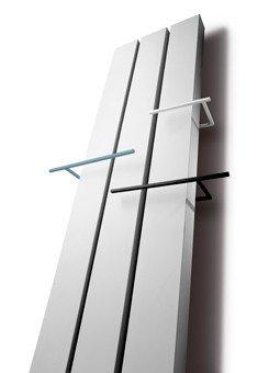 Handdoekbeugel Vasco Niva.Vasco Beams Designradiator Aluminium Verticaal 1800x320mm