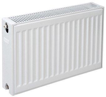 Plieger paneelradiator compact type 22 400x400mm wit structuur 510W - 7340964