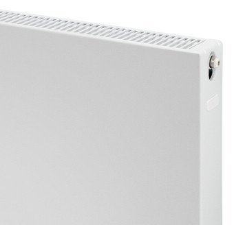 Plieger Compact flat paneelradiator compact vlakke plaat type 22 600x1200mm wit 1895W - 7340479