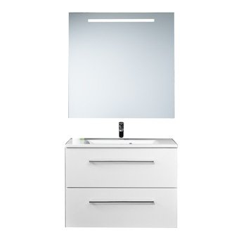 Plieger Qubic meubelset m. 2 laden m. spiegel m. verlichting horizontaal - 957651