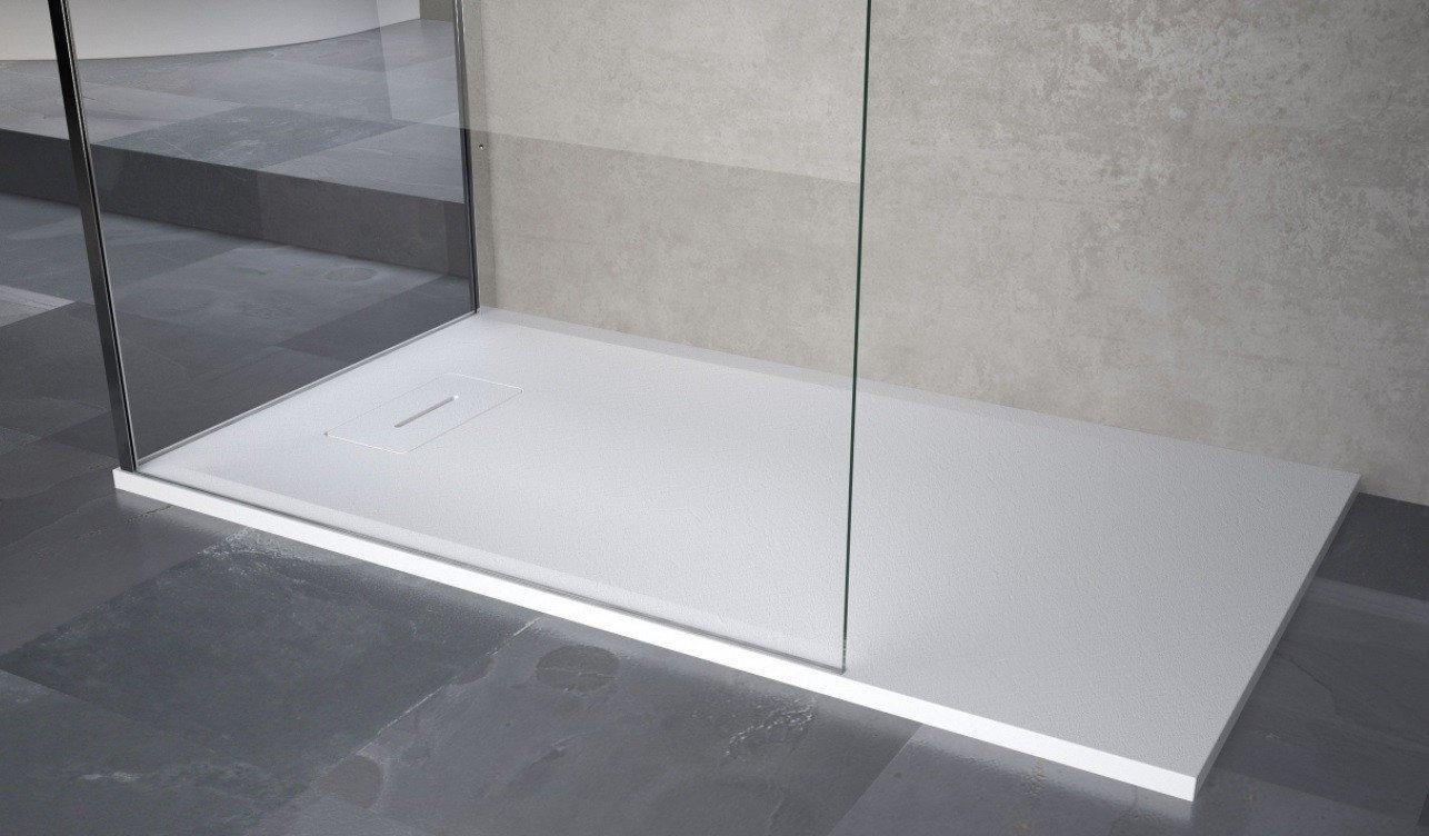 Novellini Novosolid composiet douchebak voor installatie in de vloer ...