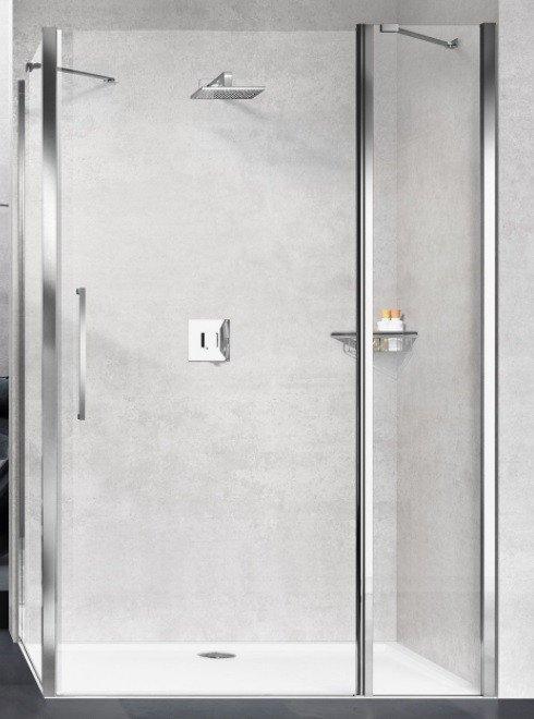 novellini young 2 0 2p draaideur vast deel in lijn. Black Bedroom Furniture Sets. Home Design Ideas