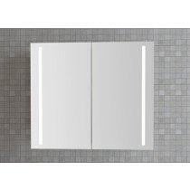 Dansani Luna spiegelkast m. geintegreerde LED verlichting verticaal 120x70x19cm champagne - SP37210E