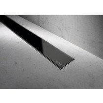 Easy Drain Modulo Basic rooster glas zwart zonder inbouwdeel 60cm - MBGS600