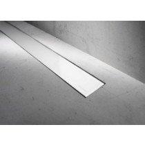 Easy Drain Modulo Basic rooster glas wit zonder inbouwdeel 60cm - MBGW600