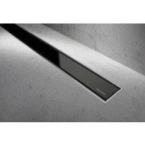 Easy Drain Modulo Luxe/TAF rooster glas zwart zonder inbouwdeel 120cm - MLGS1200