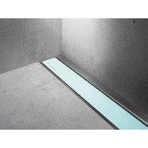 Easy Drain Modulo Luxe-wall/TAF rooster glas groen zonder inbouwdeel 120cm - MLWGG1200