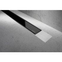 Easy Drain Modulo TAF Designrooster Z2 Mat glas zwart zonder inbouwdeel 100cm Glas zwart - MTAFDZ2MGS1000