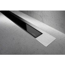 Easy Drain Modulo TAF Designrooster Z3 Mat glas zwart zonder inbouwdeel 120cm Glas zwart - MTAFDZ3MGS1200