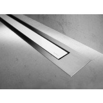 Easy Drain Modulo TAF Designrooster Z4 Mat glas wit zonder inbouwdeel 100cm Glas wit - MTAFDZ4MGW1000