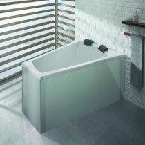 Hoesch Largo kunststof bad acryl a-symmetrisch rechts - 3706010