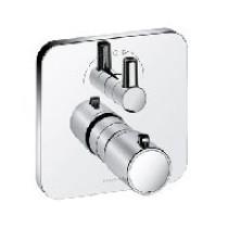 Kludi E2 afbouwdeel v. inbouw badkraan thermostatisch m. omstel  chroom - 498300575