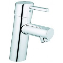Grohe Concetto 1-gats wastafelkraan m. inzinkbare ketting - 2338110E