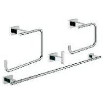 Grohe Essentials Cube accessoireset 4 in 1  chroom - 40778001