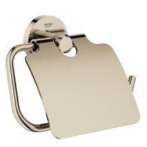 Grohe Essentials closetrolhouder met klep nikkel - 40367BE1