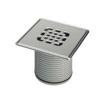 Viega Advantix opzet en verlengstuk v. vloerput m. O-ring niet geschroefd roestvast staal - 555245