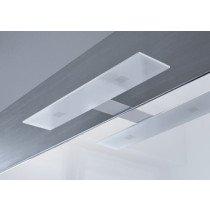 Raminex Slim XL spiegellamp met LED verlichting rechthoekig 10W chroom - 680228