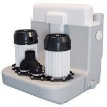 Sanibroyeur Sanicom vuilwaterpomp Sanicom 2 Expert-line voor een projectmatige-huishoudelijk gebruik 467x480x480mm wit - 5198
