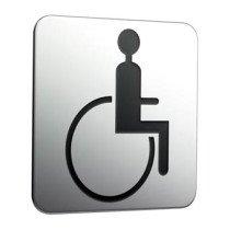 Emco System 2 deurschild symbool mindervaliden - 357600003