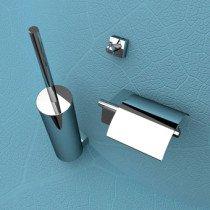 Geesa Nexx toiletset compleet m. closetrolhouder m. klep, borstelgarnituur + ophanghaak - 750002115