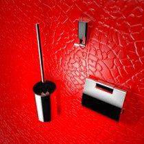 Geesa Aim accessoires pack inclusief closetborstelgarnituur plus extra borstel chroom - 91840002115