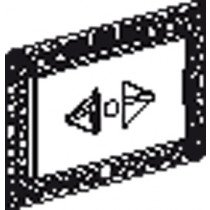Geberit Sigma 60 ruwbouwset Sigma 60 t.b.v. DF spoeltechniek m. inb.reservoir UP320/ 720 - 115795211