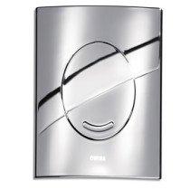Wisa XS bedieningsplaat Argos urinoir glanschroom - 8050418251