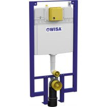 Wisa XF WC-element DF frontbediend inclusief isolatiemat H1180mm - 8050452515