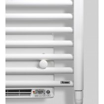Vasco Iris HD-EL-BL designradiator elektrisch met blower 1790x500mm, 1000W antraciet (M301) - 113160500179000000301-0000