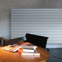 Vasco Carre Plan CPHN2 designradiator horizontaal dubbel 2200x475mm grijs-wit (M303) 2264W  aansluiting 0018 - 1113422000475001803030000