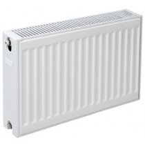Plieger paneelradiator compact type 22 400x400mm antraciet metallic 510W - 7340972