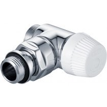 Honeywell Ultraline radiatorafsluiter Thera Design chroom haaks - V2082ESL15