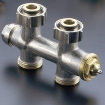 Oventrop Multiblock H-onderblok T 2-pijps - 1184013