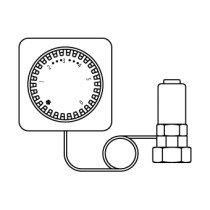 Oventrop thermostaatkop Uni-LH afstandbediening - 1012395