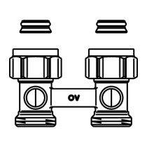 """Oventrop Multiflex H-onderblok F recht 3/4""""x3/4"""" - 1015813"""