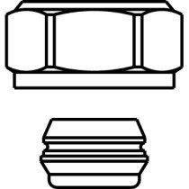 Oventrop Ofix klemset onderblok voor dunw. cv-buis - 1016813
