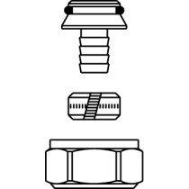 Oventrop Ofix klemset onderblok voor VPE M24x1.5 - 16/2mm - 1016824