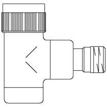 Oventrop thermostatische radiatorafsluiter E - 1163062