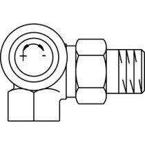 Oventrop thermostatische radiatorafsluiter A - 1181392