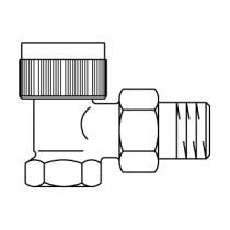 "Oventrop thermostatische radiatorafsluiter AV 6 3/4"" - 1183766"