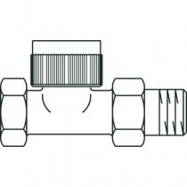 Oventrop thermostatische radiatorafsluiter AV 6 - 1183863