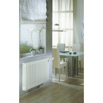 Zehnder Charleston ledenradiator 600x1196mm 2075W - 406026