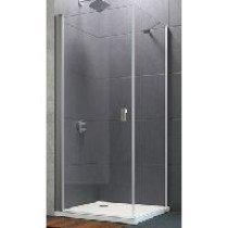 Huppe Design Pure zwaaideur 100x200cm chroom/helder - 8P0606092321