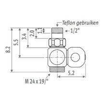 Jaga Deco ventiel - 509600101