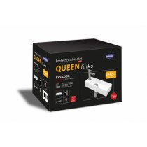 Best-Design Queen fonteinpack design sifon, fonteinkraan en afvoerplug RVS-look - 3810500