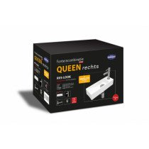 Best-Design Queen fonteinpack design sifon, fonteinkraan en afvoerplug RVS-look - 3810510